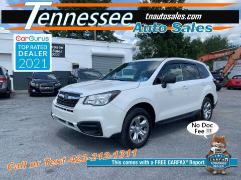 2017 Subaru Forester for sale at Tennessee Auto Sales in Elizabethton TN