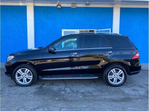 2014 Mercedes-Benz M-Class for sale at Khodas Cars in Gilroy CA