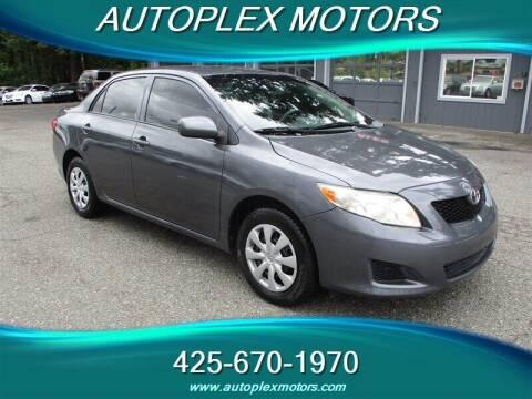 2010 Toyota Corolla for sale at Autoplex Motors in Lynnwood WA