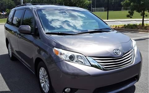 2012 Toyota Sienna for sale at memar auto sales, inc. in Marietta GA