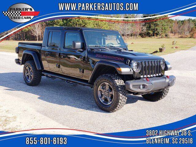 2020 Jeep Gladiator for sale at Parker's Used Cars in Blenheim SC