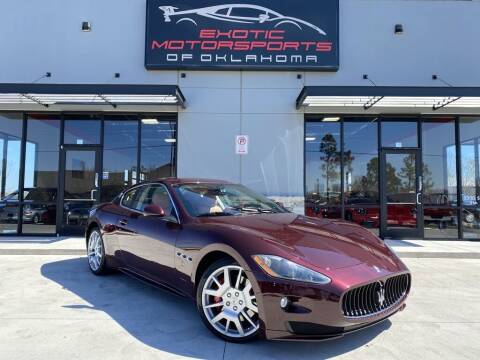 2011 Maserati GranTurismo for sale at Exotic Motorsports of Oklahoma in Edmond OK