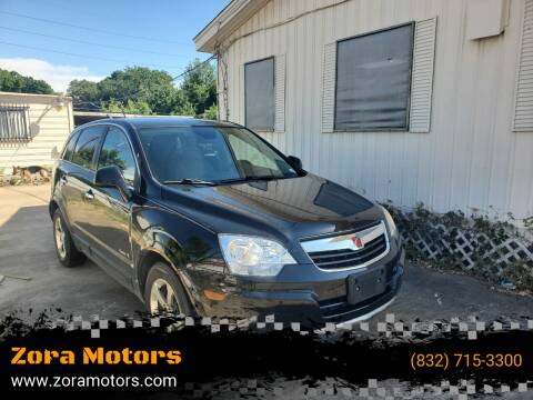 2008 Saturn Vue for sale at Zora Motors in Houston TX