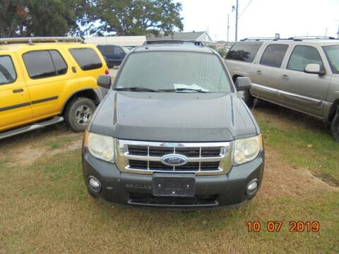 2008 Ford Escape for sale at Webb's Automotive Inc 11 in Morehead City NC