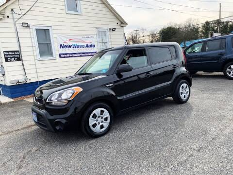 2013 Kia Soul for sale at New Wave Auto of Vineland in Vineland NJ