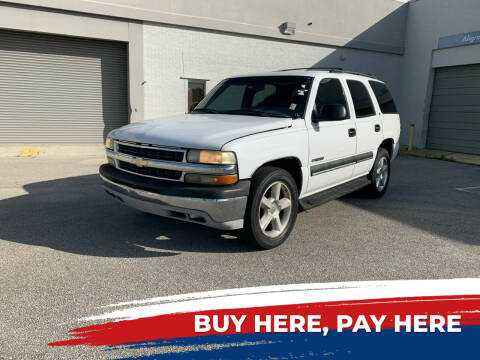 2002 Chevrolet Tahoe for sale at Mid City Motors Auto Sales - Mid City South in Fort Myers FL