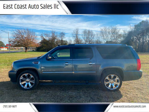 2008 Cadillac Escalade ESV for sale at East Coast Auto Sales llc in Virginia Beach VA