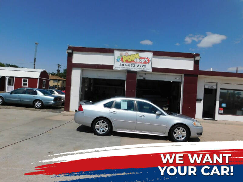 2010 Chevrolet Impala for sale at Pork Chops Truck and Auto in Cheyenne WY