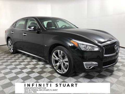 2018 Infiniti Q70L for sale at Infiniti Stuart in Stuart FL