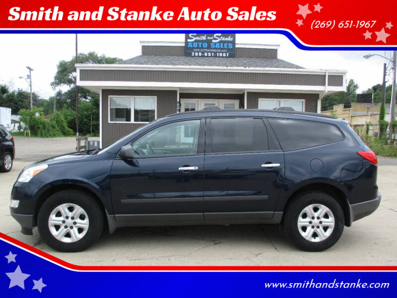 2012 Chevrolet Traverse for sale at Smith and Stanke Auto Sales in Sturgis MI