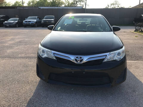 2014 Toyota Camry for sale at SOUTHWAY MOTORS in Houston TX