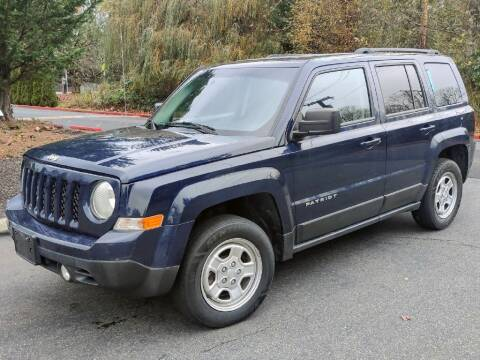 2016 Jeep Patriot for sale at Halo Motors in Bellevue WA