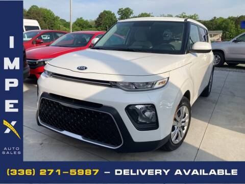 2020 Kia Soul for sale at Impex Auto Sales in Greensboro NC