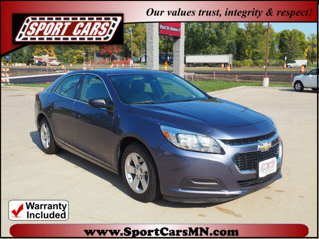 2014 Chevrolet Malibu for sale at SPORT CARS in Norwood MN