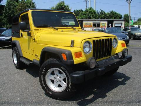 2005 Jeep Wrangler for sale at Unlimited Auto Sales Inc. in Mount Sinai NY