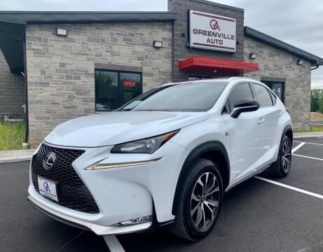 2016 Lexus NX 200t for sale at GREENVILLE AUTO & RV in Greenville WI