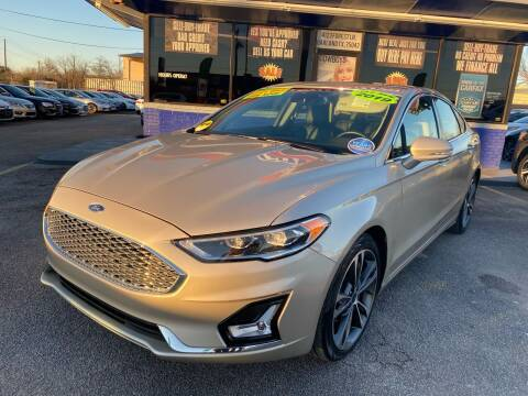 2019 Ford Fusion for sale at Cow Boys Auto Sales LLC in Garland TX