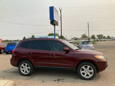 2007 Hyundai Santa Fe for sale at AFFORDABLY PRICED CARS LLC in Mountain Home ID