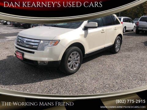 2008 Ford Edge for sale at DAN KEARNEY'S USED CARS in Center Rutland VT