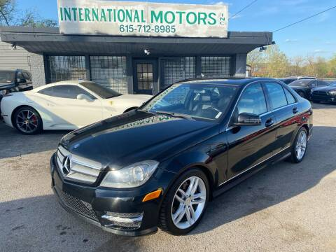 2013 Mercedes-Benz C-Class for sale at International Motors Inc. in Nashville TN