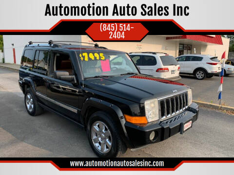 2006 Jeep Commander for sale at Automotion Auto Sales Inc in Kingston NY