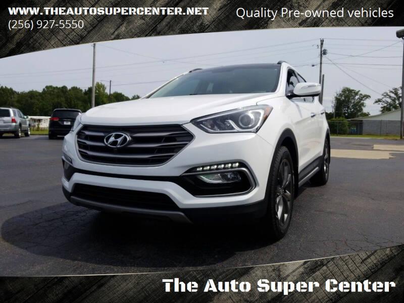 2017 Hyundai Santa Fe Sport for sale at The Auto Super Center in Centre AL