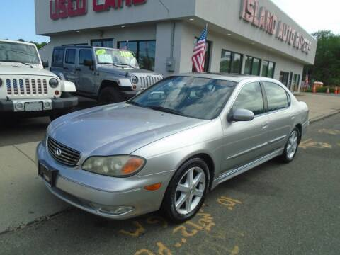 2004 Infiniti I35 for sale at Island Auto Buyers in West Babylon NY