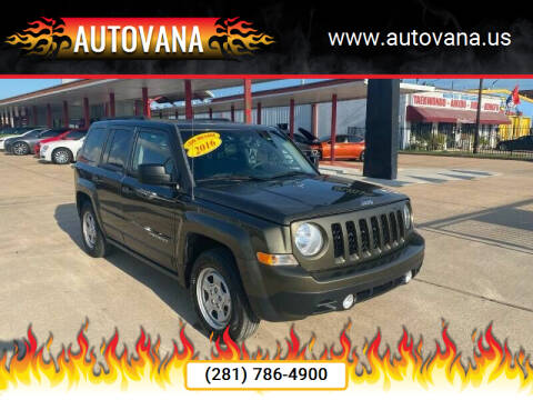 2016 Jeep Patriot for sale at AutoVana in Humble TX
