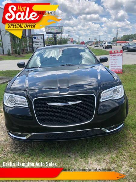 2017 Chrysler 300 for sale at Gralin Hampton Auto Sales in Summerville SC