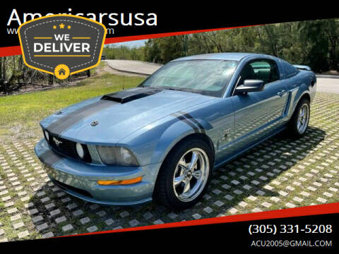 2006 Ford Mustang for sale at Americarsusa in Hollywood FL
