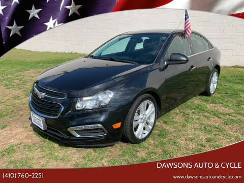 2015 Chevrolet Cruze for sale at Dawsons Auto & Cycle in Glen Burnie MD