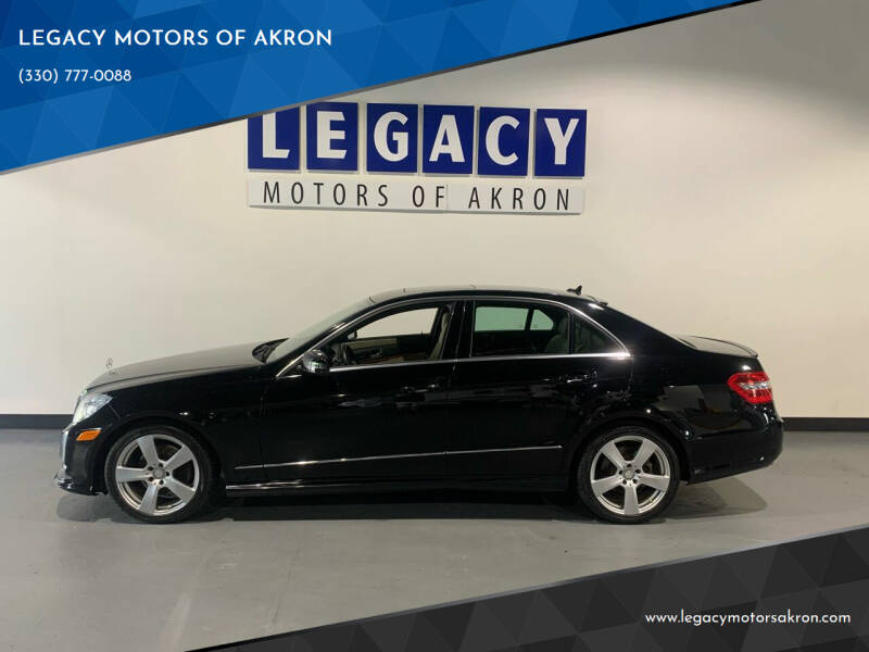 2010 Mercedes-Benz E-Class for sale at LEGACY MOTORS OF AKRON in Akron OH
