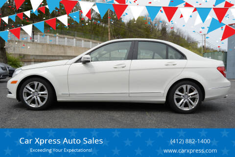 2012 Mercedes-Benz C-Class for sale at Car Xpress Auto Sales in Pittsburgh PA