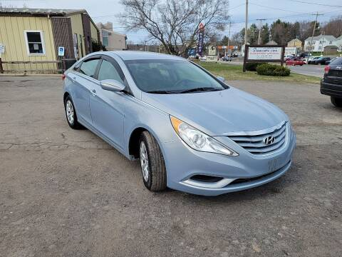 2012 Hyundai Sonata for sale at GLOVECARS.COM LLC in Johnstown NY