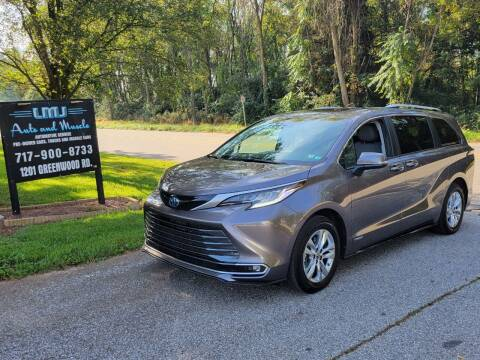 2021 Toyota Sienna for sale at LMJ AUTO AND MUSCLE in York PA