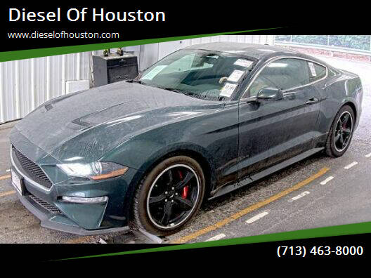 2019 Ford Mustang for sale at Diesel Of Houston in Houston TX
