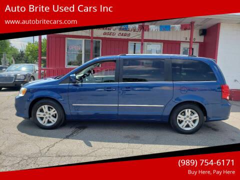 2011 Dodge Grand Caravan for sale at Auto Brite Used Cars Inc in Saginaw MI
