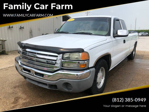 2003 GMC Sierra 1500 for sale at Family Car Farm in Princeton IN