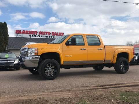 2013 Chevrolet Silverado 2500HD for sale at BLAESER AUTO LLC in Chippewa Falls WI