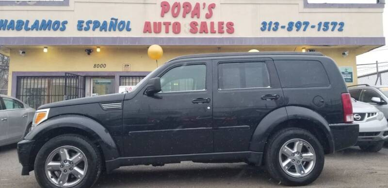 2008 Dodge Nitro for sale at Popas Auto Sales in Detroit MI