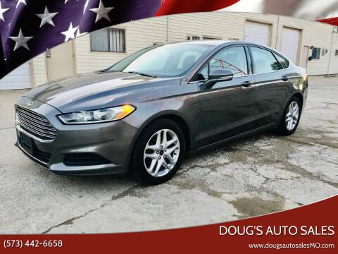 2014 Ford Fusion for sale at Doug's Auto Sales in Columbia MO