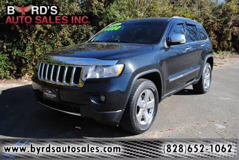 2012 Jeep Grand Cherokee for sale at Byrds Auto Sales in Marion NC
