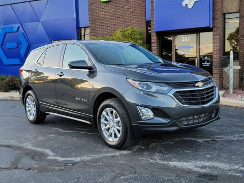 2020 Chevrolet Equinox for sale at Mighty Motors in Adrian MI