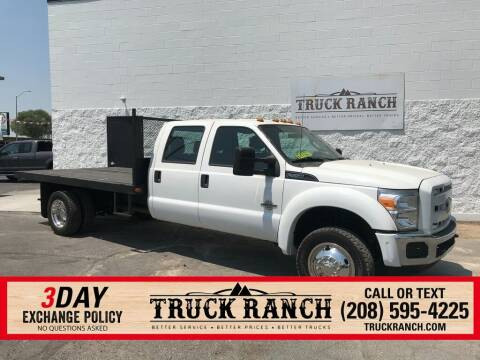 2012 Ford F-550 Super Duty for sale at Truck Ranch in Twin Falls ID