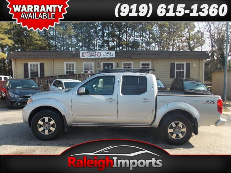 2011 Nissan Frontier for sale at Raleigh Imports in Raleigh NC