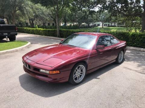 1995 BMW 8 Series for sale at AUTOSPORT in Wellington FL