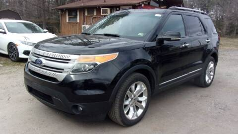 2011 Ford Explorer for sale at Select Cars Of Thornburg in Fredericksburg VA