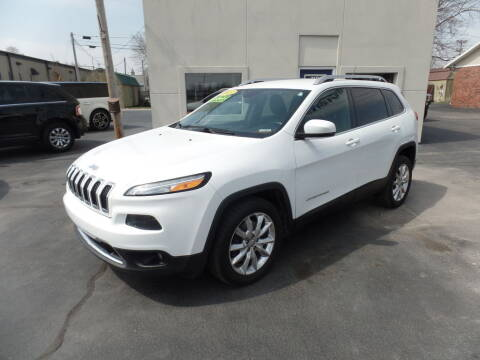 2015 Jeep Cherokee for sale at DeLong Auto Group in Tipton IN