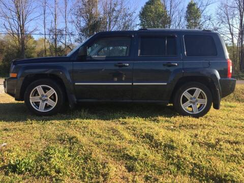 2008 Jeep Patriot for sale at Tennessee Valley Wholesale Autos LLC in Huntsville AL