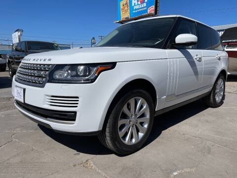 2015 Land Rover Range Rover for sale at MAGIC AUTO SALES, LLC in Nampa ID